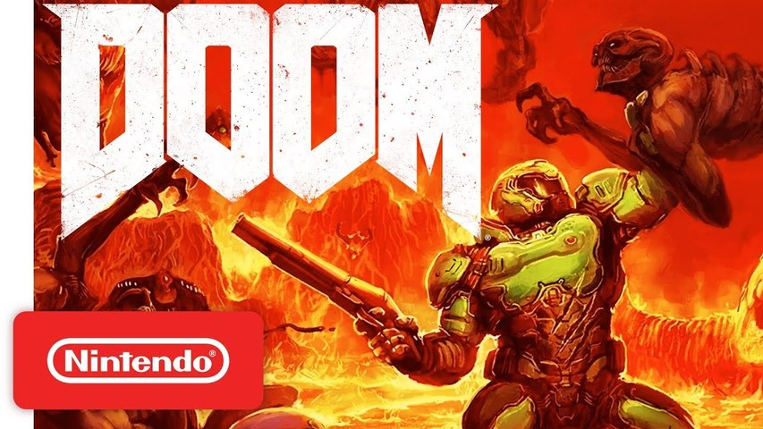 The Complete DOOM Series - Official Nintendo Switch Trailer
