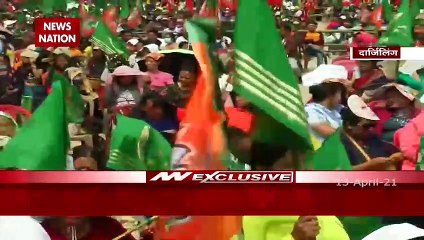 Home Minister Amit Shah addresses a public Rally in Darjeeling