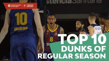 Top 10 Dunks of Regular Season!