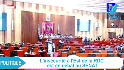 RDC : Débat au Sénat sur l'insécurité dans l'est du pays
