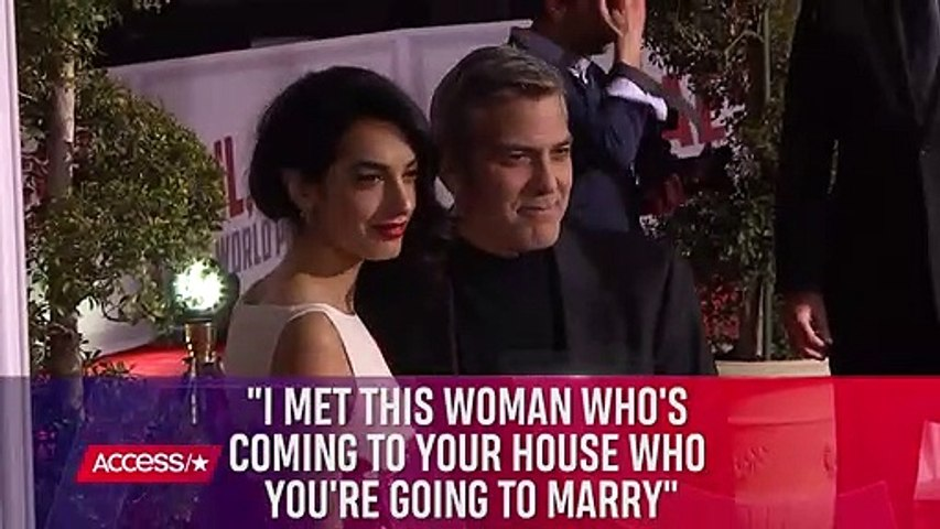 George Clooney Says He_d Give His Life For Wife Amal _ Access