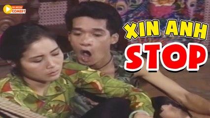 """Hài Xưa Cười Muốn Xỉu """" Xin Anh Stop """" Hài Hồng Vân, Minh Nhí Hay Nhất"""