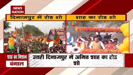 Union Minister Amit Shah holds rally in North Dinajpur