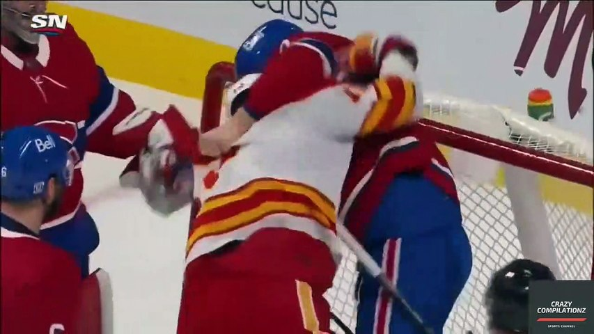 Every Nhl Fight 2021 (Part 2)