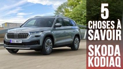 Skoda Kodiaq 2021, 5 choses à savoir sur le restylage du SUV tchèque