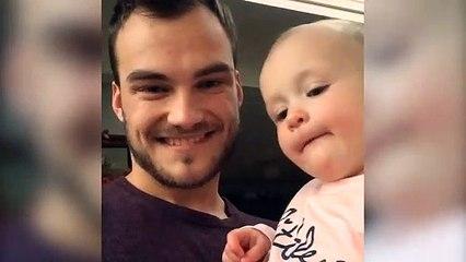 Adorable : ce bébé imite son papa qui fait du beatbox