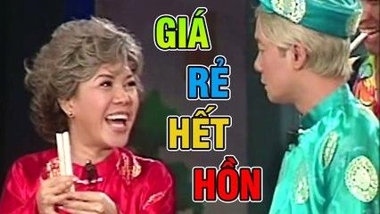 """Hài """" Giá Rẻ Hết Hồn Full """" Hài Kịch Xưa Việt Hương, Minh Nhí Hay Nhất"""