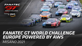 Live from Monza - The Fanatec GT World Challenge Powered by AWS. - FRENCH
