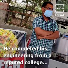 Meet Deepak, A BTech Graduate Who Took To Selling Biryani Out Of His Car in Faridabad