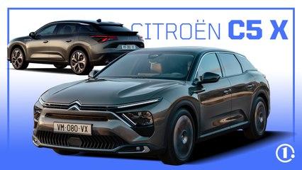 CITROËN C5 X   Une grande berline-SUV, la clé du succès ?