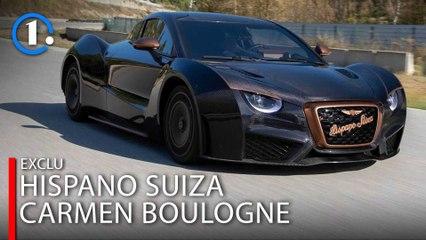 EXCLU - Essai Hispano Suiza Carmen Boulogne