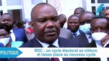 """CORNEILLE NANGAA : """"Un cycle électoral s'est clôturé, un nouveau cycle a commencé (en RDC)"""""""