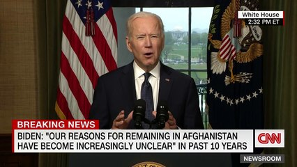 Joe Biden explains US troops withdrawal from Afghanistan  Full speech