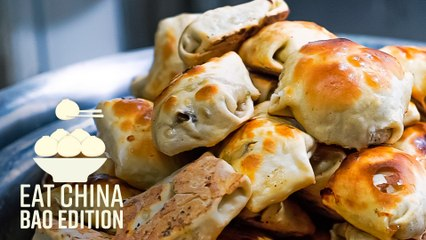 How Xinjiang's Crispy Baked Buns Are Made - Eat China (S3E6)