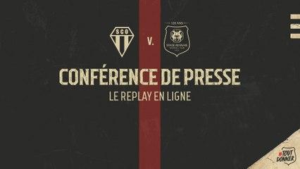 J33. #SCOSRFC - Replay de la conférence de presse d'avant-match