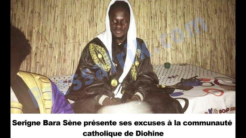 Serigne Bara Sène présente ses excuses à la communauté catholique de Diohine
