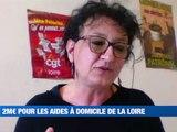 A la Une : 200M€ pour les aides à domicile / On a testé pour vous les auto tests / Najat-Vallaud-Belkacem en campagne ligérienne / - Le JT - TL7, Télévision loire 7
