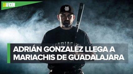 Adrián González se incorpora a pretemporada de Mariachis