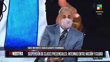 Jorge Rial, irónico con Pampita