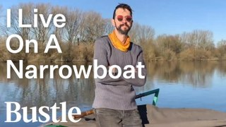 Living On A Tiny Narrowboat In England