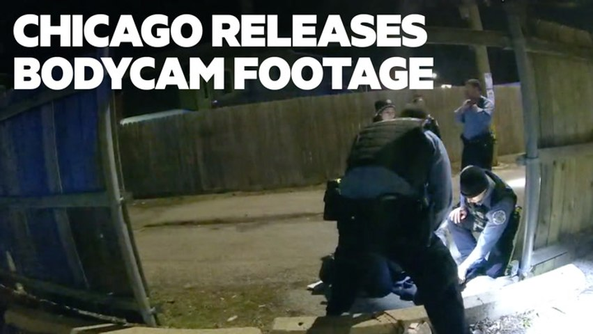 VIDEO: Bodycam footage shows 13-year-old boy was raising his hands before he was shot and killed by Chicago police