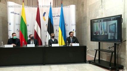 Ucrânia acusa Rússia de querer 'destruí-la'