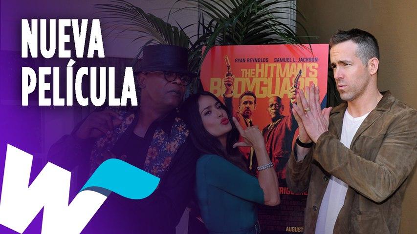 Ryan Reynolds estrenará película junto a Salma Hayek y Samuel L. Jackson