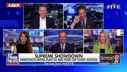 'The Five' blast 'tyrannical' far-left Dem plans to pack Supreme Court