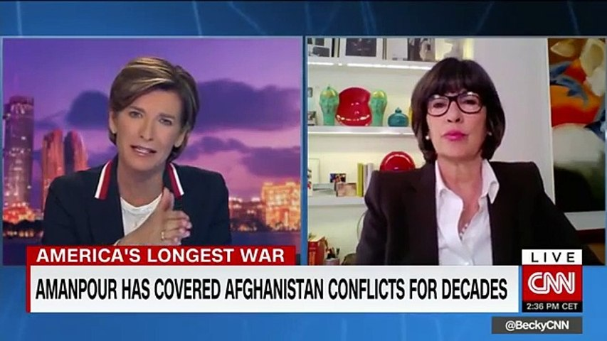 Christiane Amanpour looks back at Afghanistan's wars