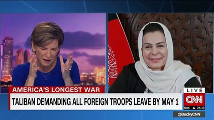 Hear this Afghan negotiator's message to US lawmakers