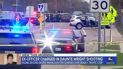 Ex-cop who fatally shot Daunte Wright charged with 2nd degree manslaughter