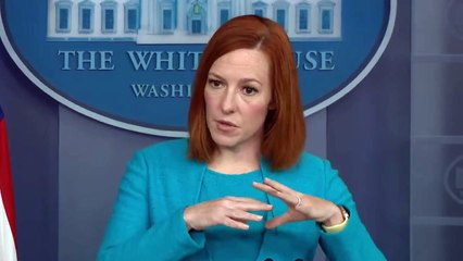 Jen Psaki holds White House press briefing  4-15-2021