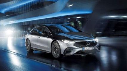 Elektrischer Stern: Der neue Mercedes-Benz EQS