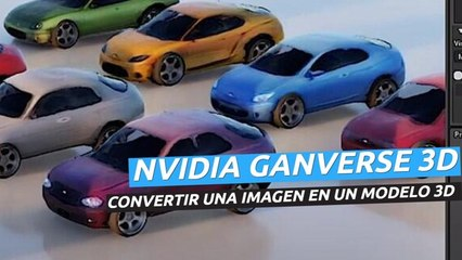 GANverse 3D - Convertir una imagen en un modelo 3D