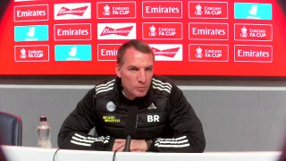 Brendan Rodgers on Leicester's FA Cup semi final against Southampton