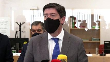 Vicepresidente de la Junta de Andalucía inaugura sede del partido judicial de Barbate
