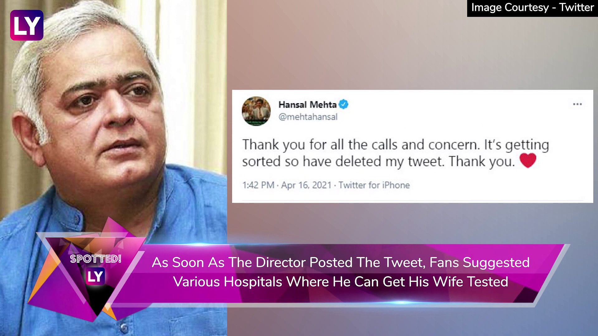 Hansal Mehta's Wife Shows Symptoms Of Covid-19, Filmmaker Asks For Help To Get Her Tested; Alia Bhatt Tests Negative