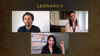 LEONARDO: Aidan Turner & Matilda De Angelis on Working Together