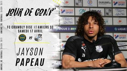 Jour de Conf' FCCO - ASC : Jayson Papeau