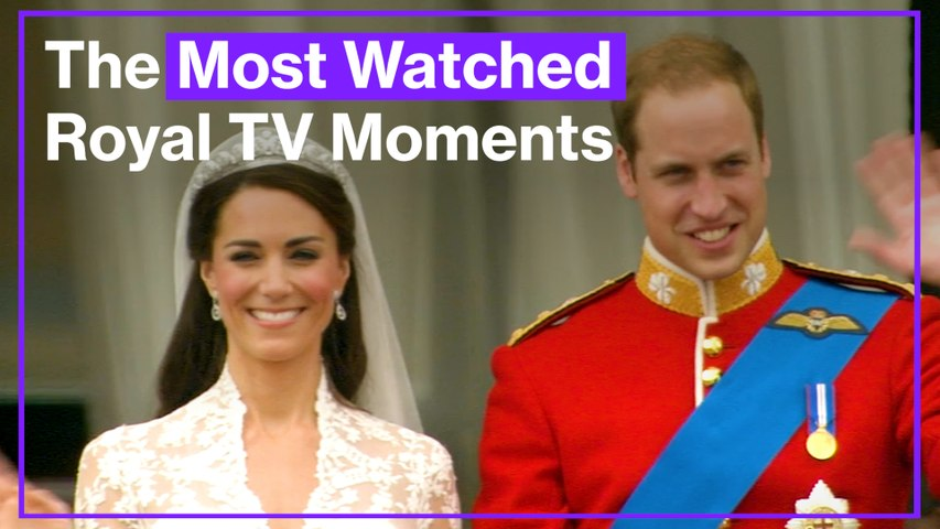 The most watched royal TV moments ever