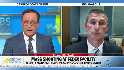 Gunman who opened fire at Indianapolis FedEx facility likely used rifle, official says