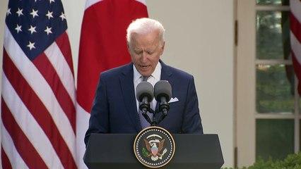 Biden diz que EUA e Japão vão enfrentar juntos 'desafios' da China