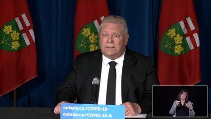 Ontario to strengthen public health enforcement, extend shutdown