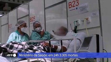 Covid-19: Brasil tem 368,7 mil mortes
