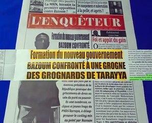 Revue Presse Labari 16 Avril 2021