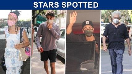 Ranbir At Clinic, Ibrahim Ali Khan, Anjini Dhawan, Taapsee | Stars Spotted