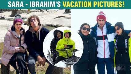 Sara Ali Khan's Vacation Pictures With Ibrahim Ali Khan And Mom Amrita Singh Goes Viral