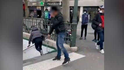 Paris : une femme poussée dans les escaliers du métro après une altercation porte de la Chapelle