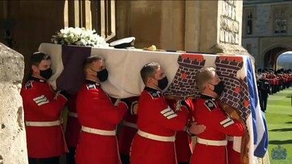 Reino Unido despide al duque de Edimburgo con una solemne ceremonia