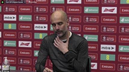 Guardiola on Chelsea ending City quadruple hopes